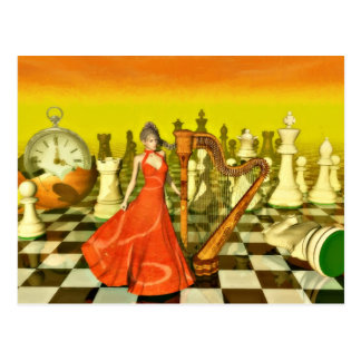 Chess Queen Postcards