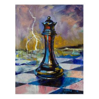 Chess Queen Postcard