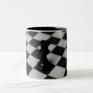 Chess queen Two-Tone coffee mug