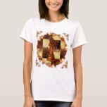 Chess Queen womens basic t-shirt