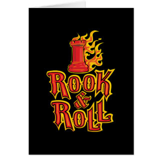Chess Rook & Roll Card