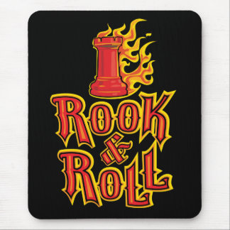 Chess Rook & Roll Mouse Pad