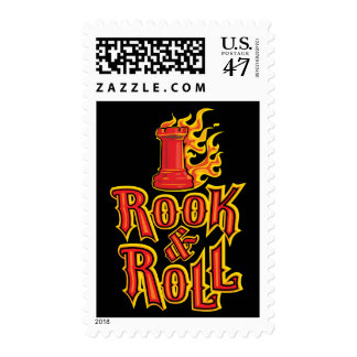 Chess Rook & Roll Postage