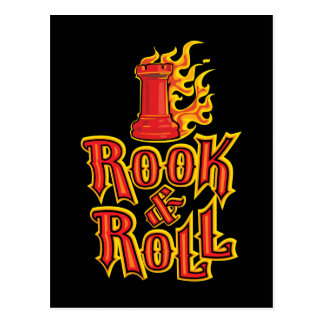 Chess Rook Roll Post Cards