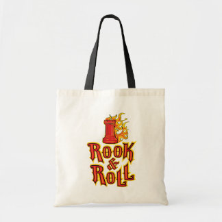 Chess Rook & Roll Tote Bag