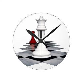 Chess Round Clock