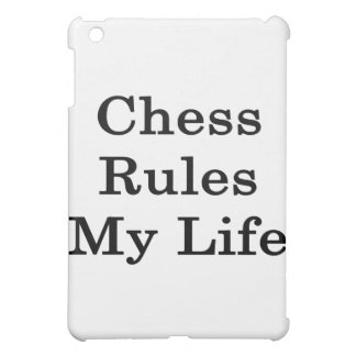 Chess Rules My Life iPad Mini Cases