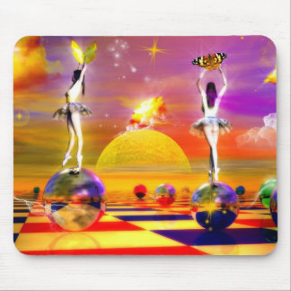 Chess Series, Chess Paintings, Chess art Mouse Pad