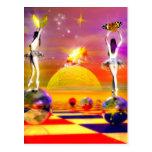 Chess Series, Chess Paintings, Chess art Postcard