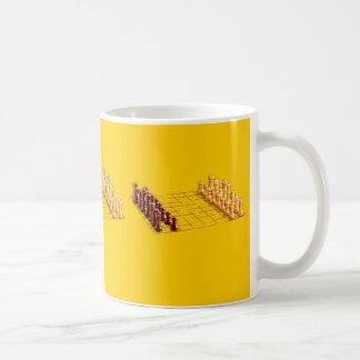 Chess Set Classic White Coffee Mug