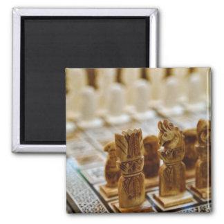 Chess set for sale, Khan el Khalili Bazaar, 2 Inch Square Magnet