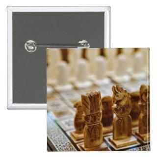 Chess set for sale, Khan el Khalili Bazaar, Button