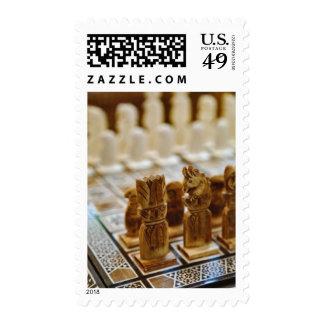 Chess set for sale, Khan el Khalili Bazaar, Postage Stamp