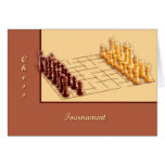 Chess Set Greeting Card