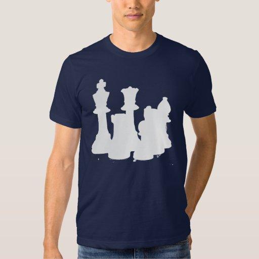 Chess Set White T-Shirt