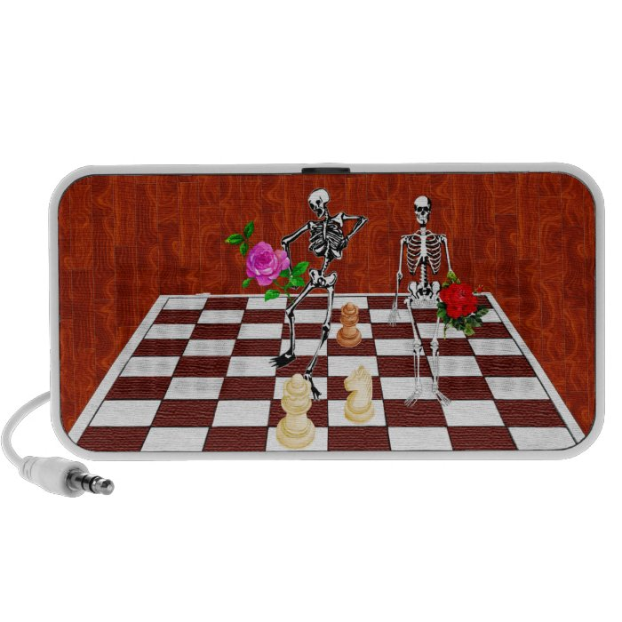 Chess Skeletons Speaker