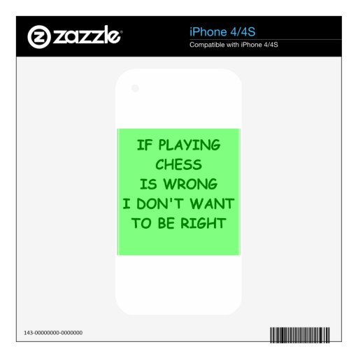 chess skins for the iPhone 4S