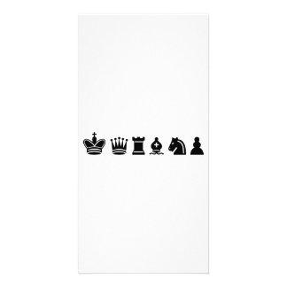 Chess sports photo card