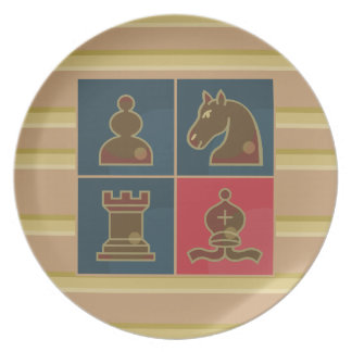 Chess Squares Plate