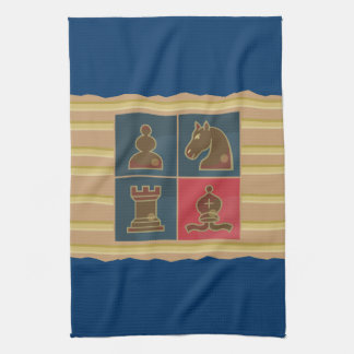 Chess Squares Towel