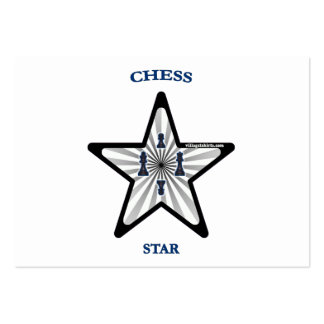 Chess Star Large Business Cards (Pack Of 100)