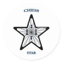 Chess Star Sticker