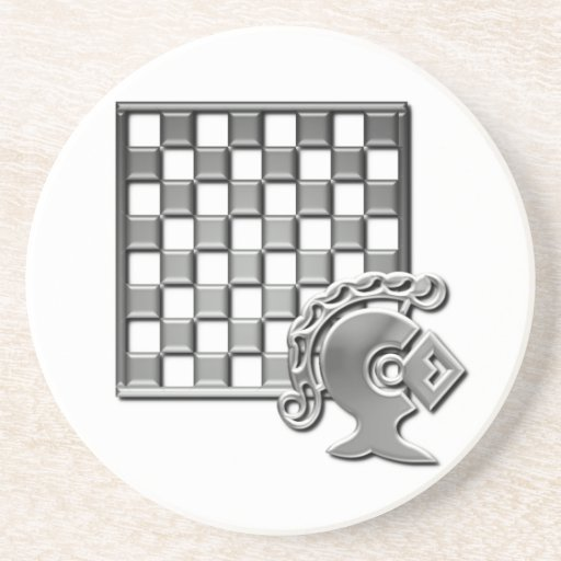 Chess Strategy Coaster