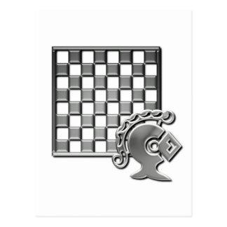 Chess Strategy Postcard