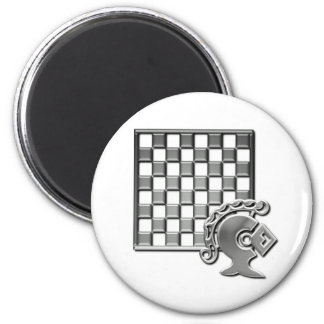 Chess Strategy Round Magnet Fridge Magnets