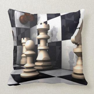 Chess Style Throw Pillow
