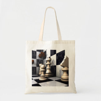 Chess Style Tote Bag