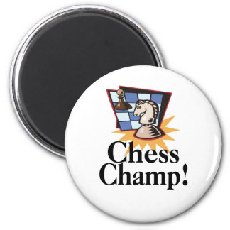 Chess T-shirts and Gifts. 2 Inch Round Magnet