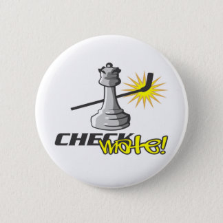 Chess T-shirts and Gifts. Button