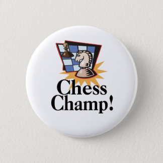 Chess T-shirts and Gifts. Pinback Button