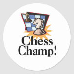 Chess T-shirts and Gifts. Sticker