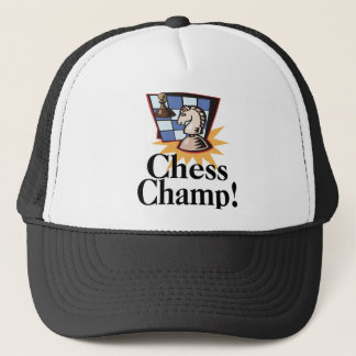 Chess T-shirts and Gifts. Trucker Hat