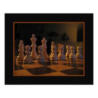 Chess Table Posters