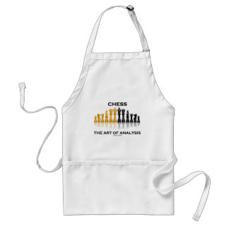 Chess The Art Of Analysis Adult Apron