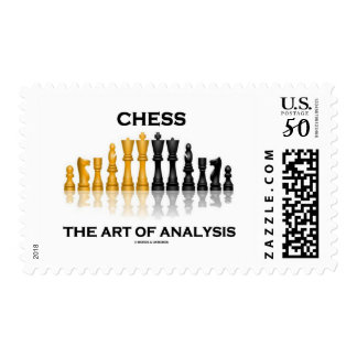 Chess The Art Of Analysis Chess Pieces Postage