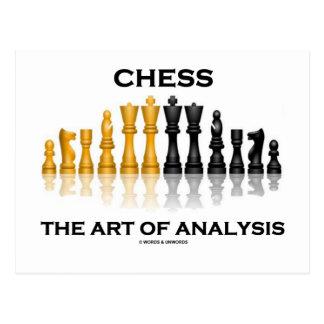 Chess The Art Of Analysis Postcard