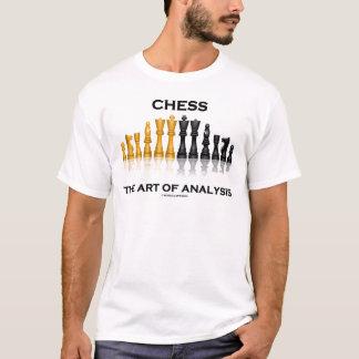 Chess The Art Of Analysis T-Shirt