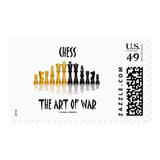 Chess The Art Of War (Matisse Font) Postage