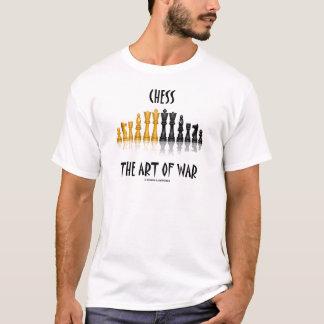 Chess The Art Of War (Matisse Font) T-Shirt