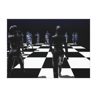 Chess - The Bishop's View Canvas Prints