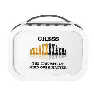 Chess The Triumph Of Mind Over Matter Replacement Plate
