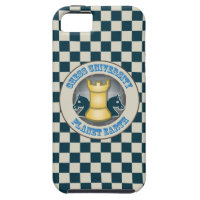 Chess University on Planet Earth Emblem iPhone 5 Cover