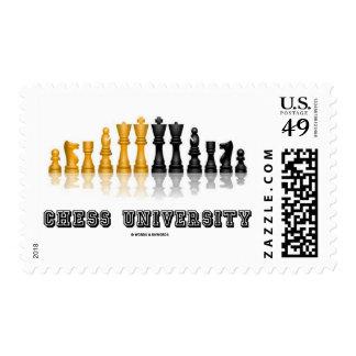 Chess University Reflective Chess Set Postage