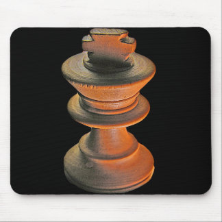 Chess White King Mouse Pads