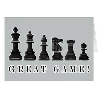 Chess Win Congratulations Card