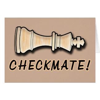 Chess Win Congratulations Checkmate Card